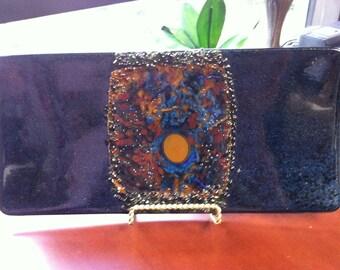 Fused Glass Art Piece