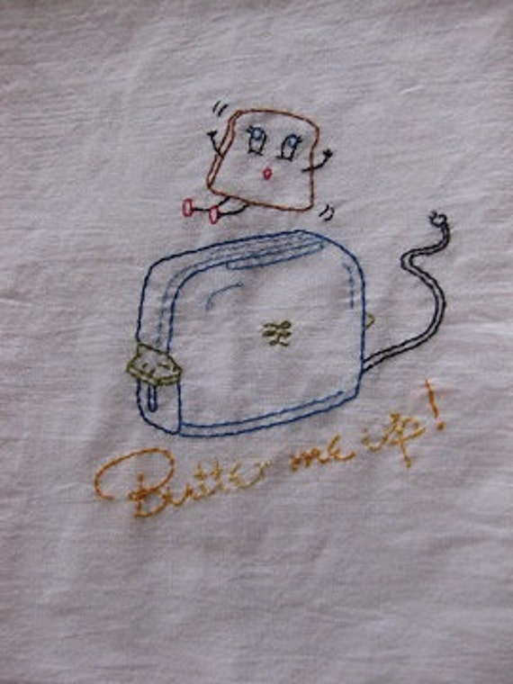 Butter Me Up Dish Towel