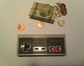 NES Controller Change Purse/ Cash Wallet