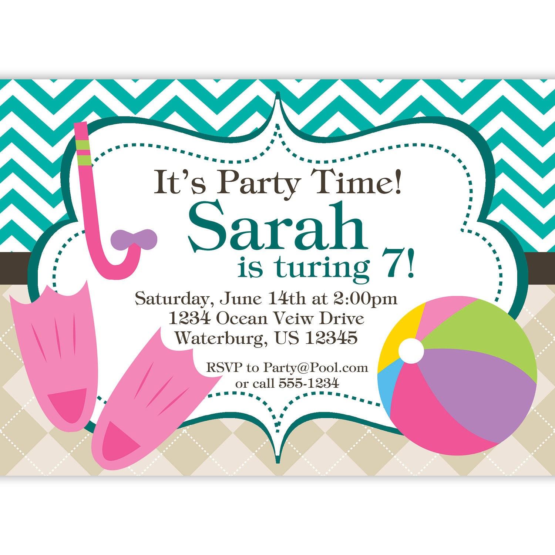 Spa Invitation Wording with adorable invitation sample