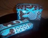 Custom made Baby wipe case gift set, Free monogramming