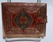 Red Italian Leather Wallet