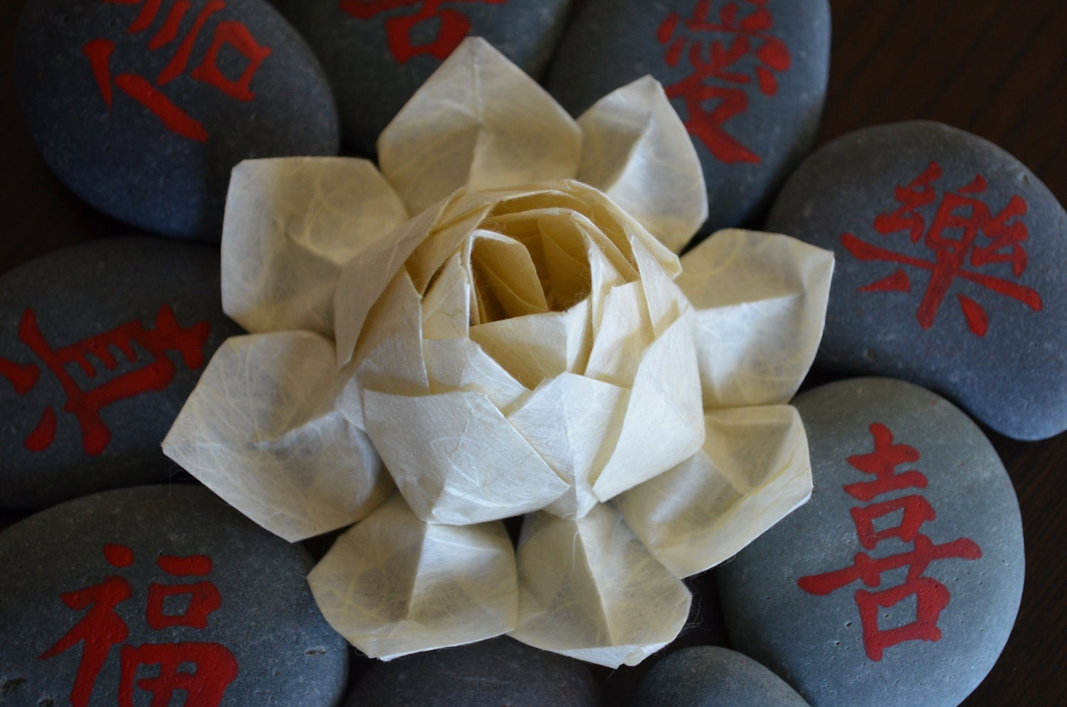 PDF Instructions Origami Lotus Flower by bingshan on Etsy - photo#44