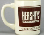 Vintage Hershey's Syrup Coffee Cup