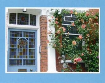 Parliament Hill roses - photo card