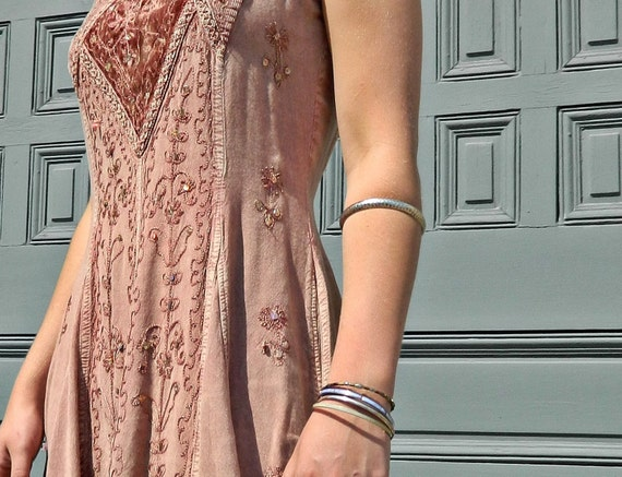 RESERVED for Gladys // Bohemian Princess Dress