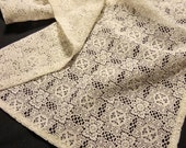 Vintage Lace Doily-Like Runner