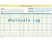 Consigment Wholesale Customer Tracker Pdf