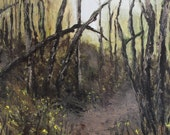 Reserved for Mark-Landscape Oil Painting-Willamette Valley, Oregon- First of Spring