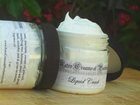 CHOCOLATE MOUSSE Goats Milk Cream Shea Butter Hands Body Face 2oz Sale