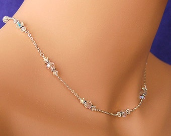 Wedding Jewelry Crystal Necklace Bridal Necklace Swarovski Crystal Necklace