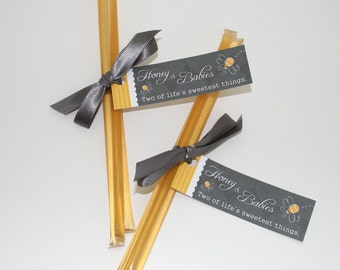 Baby Shower Favors - Honey & Babies Two of Life's Sweetest Things