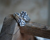 "Spoon Ring: ""Lilly"" by Silver Spoon Jewelry"