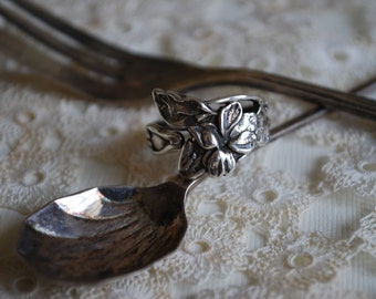 "Spoon Ring: ""Elaine"" by Silver Spoon Jewelry"