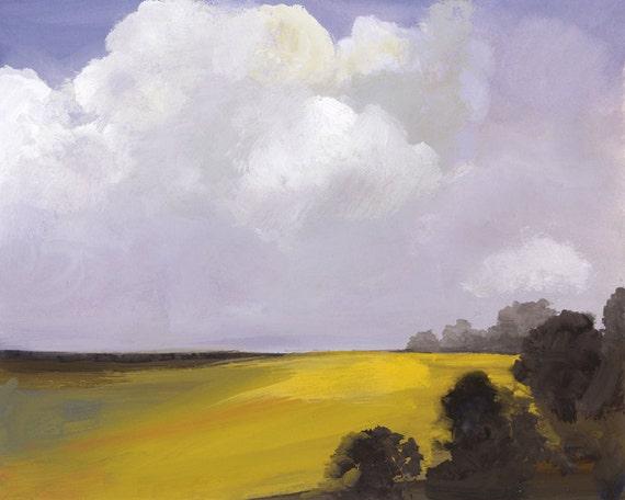 Field-Landscape Painting- original painting