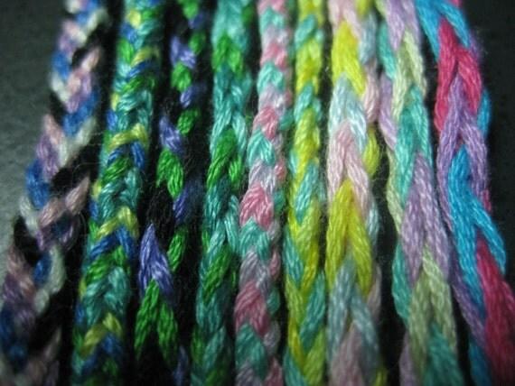 Multi-colored Friendship Bracelets