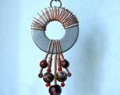 Coils necklace pendant