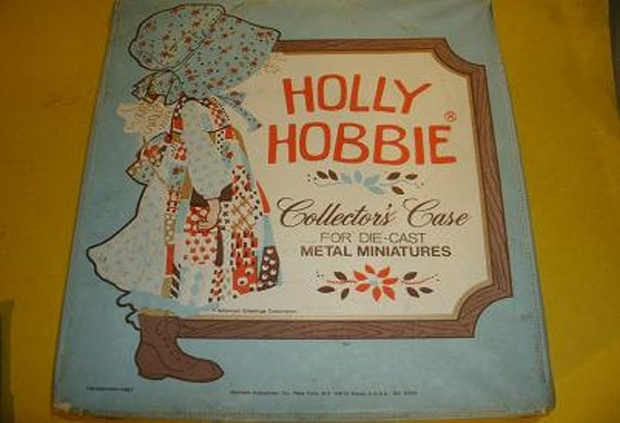 Vintage Holly Hobbie Carrying case