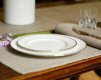 Linen Placemat Rustic: In the Buff
