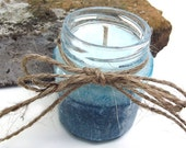 Jade Lotus and Hibiscus Palm Candle - Hand Poured Palm Wax Candle -- 6.5 ounce Jar
