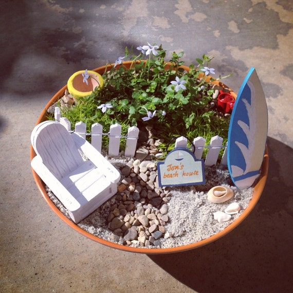 Miniature Beach Garden Kit