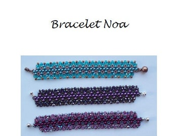 Beading Pattern Bracelet Noa PDF (English)