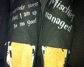 Custom Painted Marauders Map Toms- Mischief Managed