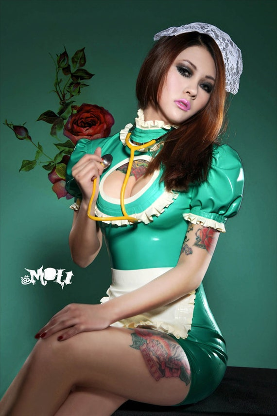 Latex Maid Uniform 103