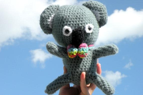 Crochet Amigurumi Nerdy Koala Bear Doll