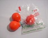 Orange Ceramic Knobs