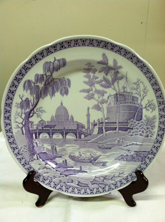 Spode Archive Collection Georgian Series plate ROME