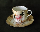 DOULTON BURSLEM Blush Ivory Cabinet Tea Cup and Saucer