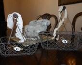 French Farmhouse Basket Set