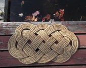 Rope Nautical Doormat - Rope Rug - gift for wedding - nautical decor