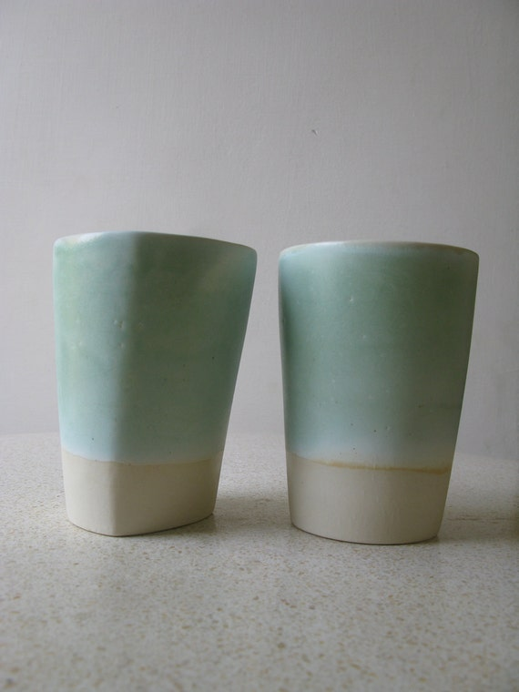 Ceramic Beakers - set of two