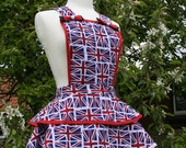 Great British Hostess Apron with Bows