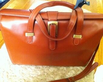 SALE  Claudio Ferrici Leather Briefcase Bag