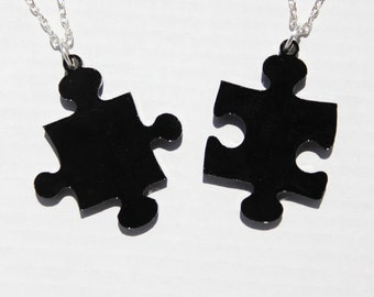 Missing Puzzle Piece necklace set 2