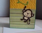 "Greeting Card ""Monkey"""