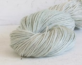 Naturally dyed cotton linen yarn, 123 yds