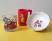 Retro Cartoon Kitchen Goodies (kitsch, vintage)