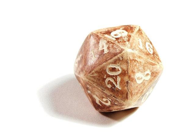 Ceramic D20 - Large 20-Sided Die