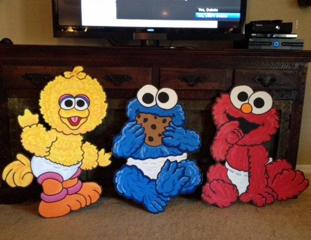 Baby Sesame Street Baby Elmo Baby Cookie Monster Baby Big