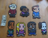 8-bit Community Bead Art - Complete Cast