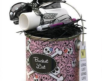 Bucket List Gift in Pink