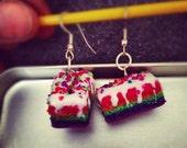 Rainbow Cake Earrings