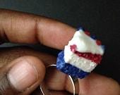 Fourth of July Cake Slice Ring