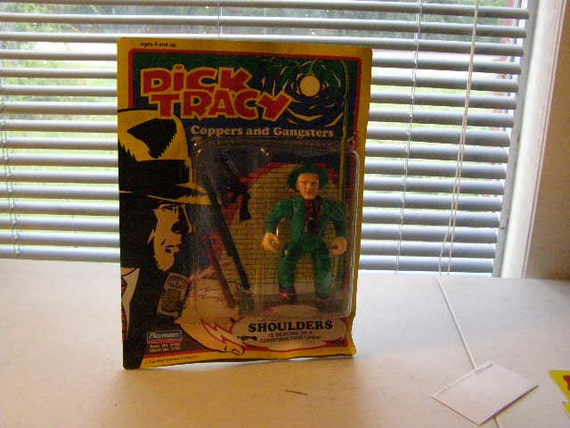 Dick Tracy  Shoulders 5 inch figure nip