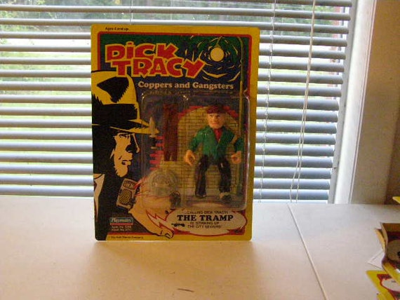 Dick Tracy   Steve theTramp 5 inch figure nip