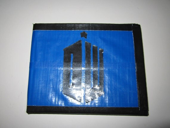 Doctor Who Duct Tape Wallet By Ductasticwallets On Etsy